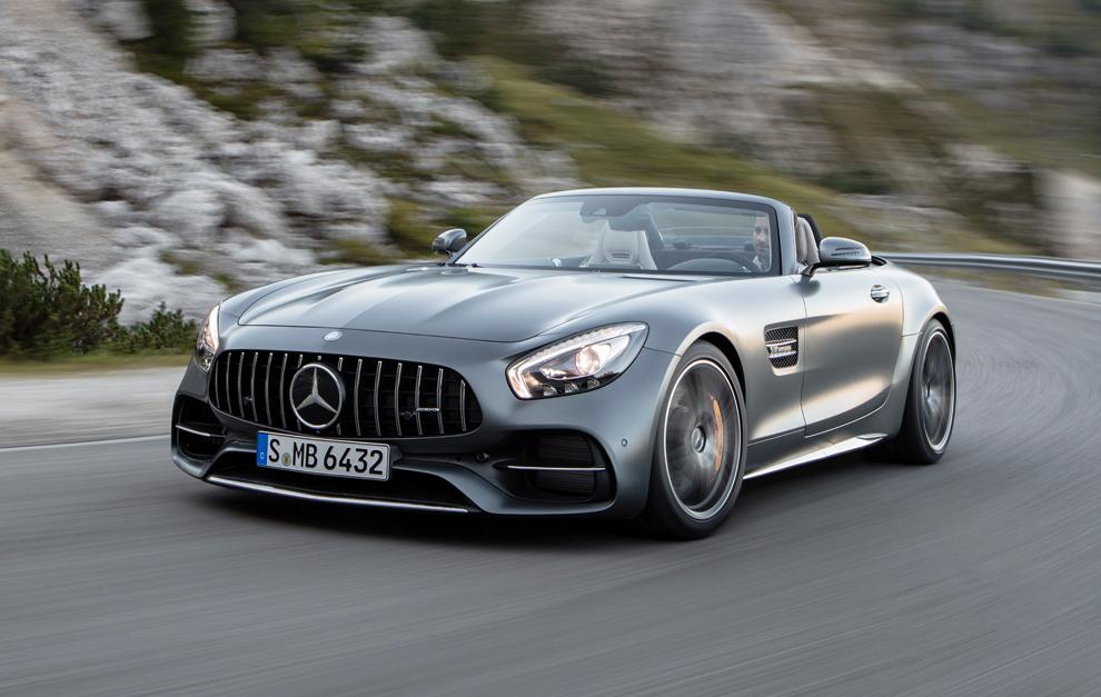 Mercedes-benz Amg Gt Roadster S 4.0 V8 Roadster Aut. 7v