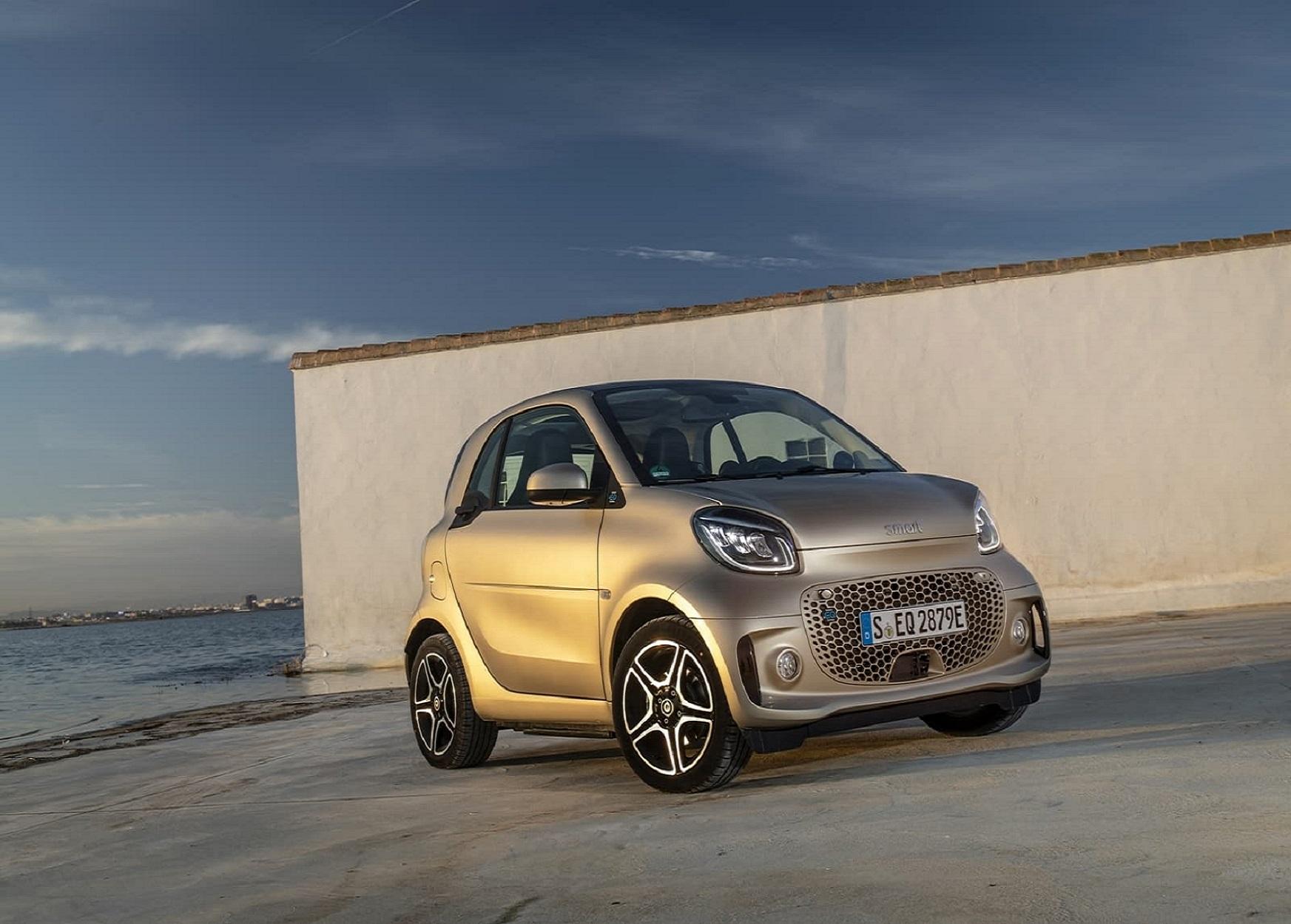 Smart Fortwo Cabrio Eq Fortwo Cabrio