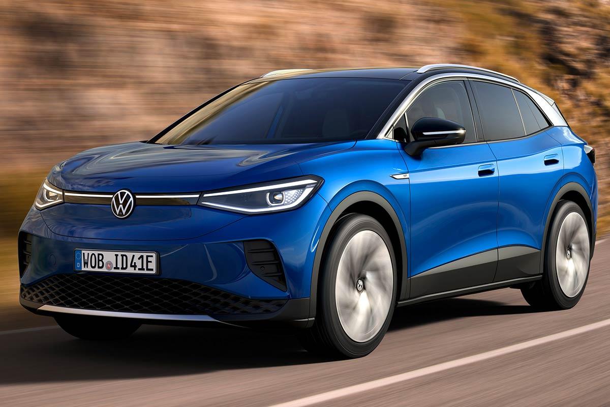 Volkswagen Id.4 1st 150 Kw 77 Kwh